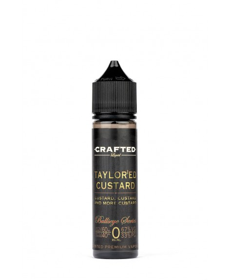 60ML Crafted Bull's eye Shake'n'Vape e-Væske Kit (Taylor'ed Cusratd)